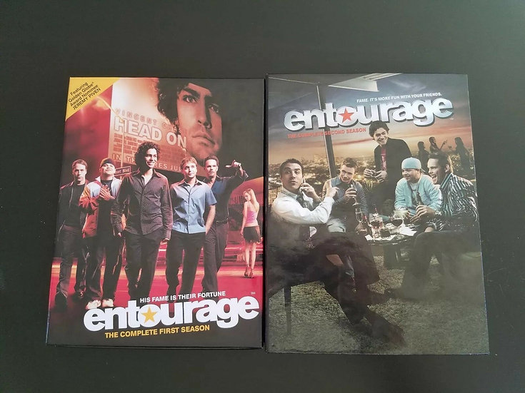 2 USED-Entourage, The Complete First & Second Season