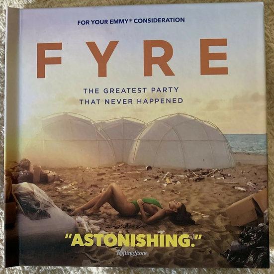 FYC 2019  FYRE Festival Documentary DVD NETFLIX