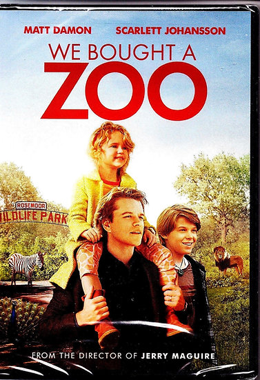 We Bought a Zoo (DVD 2012)  Matt Damon/Scarlett Johansson