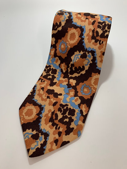 """Vintage Towncraft All Acetate Abstract Tie Made for Penney's 56"""""""