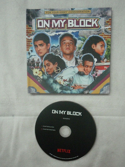 2  FYC 2019 ON MY BLOCK and one day at a time DVD NETFLIX Pressbook