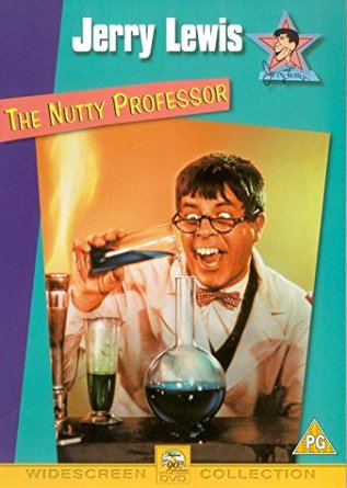 THE NUTTY PROFESSOR 1963 (DVD 2000)-Rare OOP-Jerry Lewis/ Stella Stevens