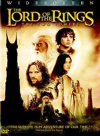 The Lord of the Rings The Two Towers  (DVD PROMO Widescreen)