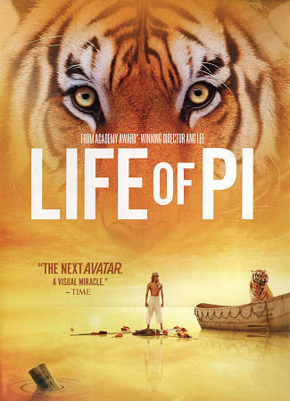 Life Of Pi (DVD, 2013, Widescreen)
