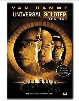 Universal Soldier: The Return (DVD 2004) Jean Claude Van Damme
