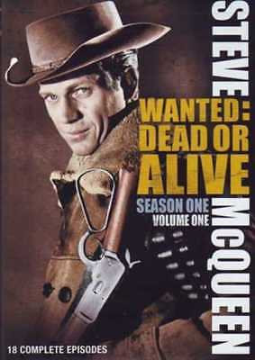 Wanted: Dead or Alive- Season 1 Volume 1 18 episodes DVD Steve McQueen