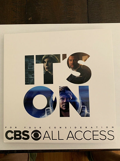 FYC 2019 IT'S ON CBS ALL ACCESS FYC 2019 16 DVD Emmy BPressbook