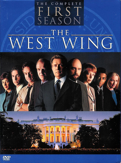 The West Wing - The Complete First Season (DVD, 2003, 4-Disc Set)