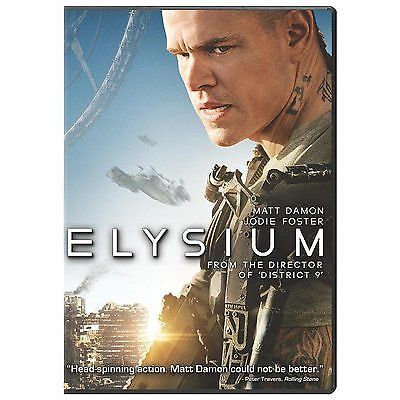 Elysium (DVD, 2013) Jodi Foster, Matt Damon