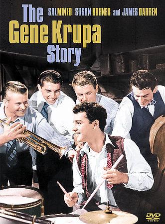 "THE GENE KRUPA STORY RARE & OOP ""1959"" (DVD 2004 B&W) Sal Mineo/James Darren/Red"