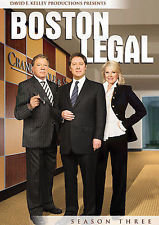 Boston Legal - Season 3 (DVD, 2009)