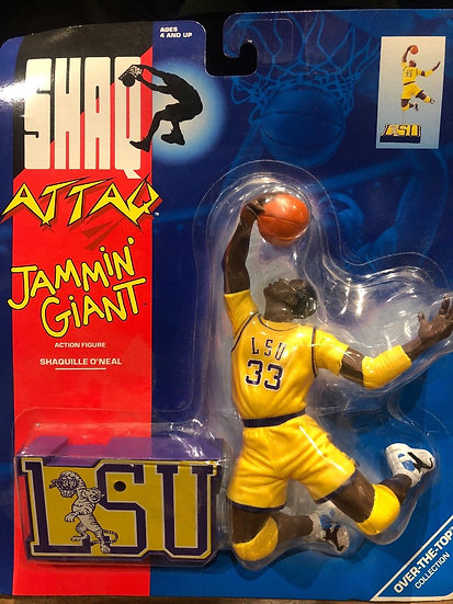 NEW Shaq Attaq Jamin Giant Action Figure 1993