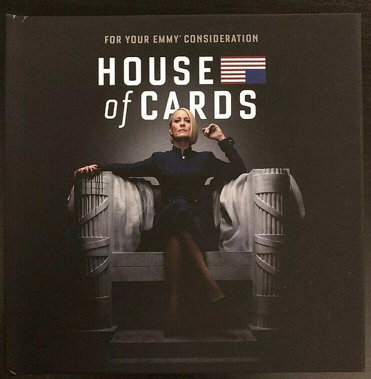 FYC 2019  HOUSE OF CARDS Season 6 The Final Season DVD NETFLIX