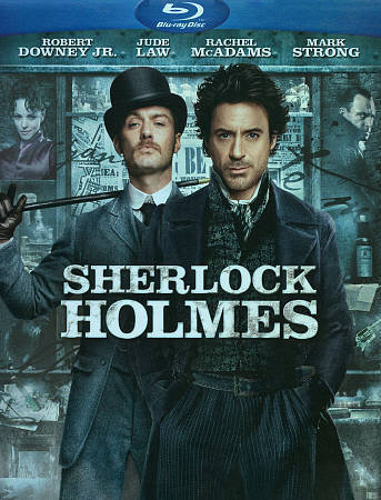 USED-Sherlock Holmes Blu-ray DVD Digital Copy Combo Pack  In slip jacket