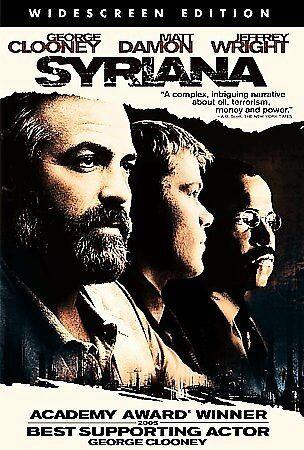 Syriana (DVD 2005 Widescreen Edition) George Clooney, Matt Damon, Jeffre