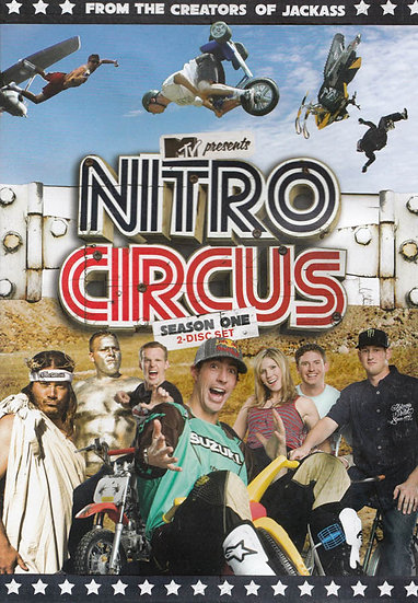 Nitro Circus: Season One (DVD, 2009, 2-Disc Set)