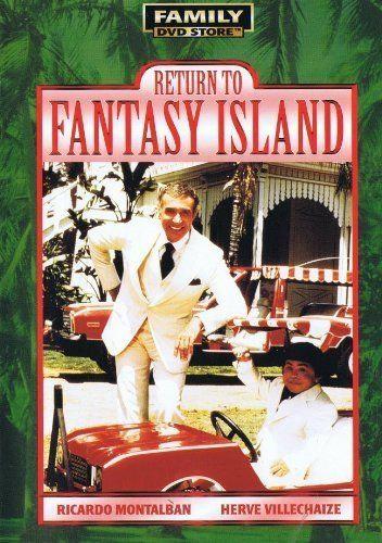 USED-Return To Fantasy Island (DVD) Ricardo Montalban