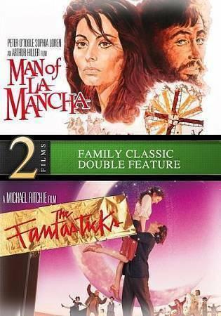 NEW Man of La Mancha abd Fantasticks DVD 2013