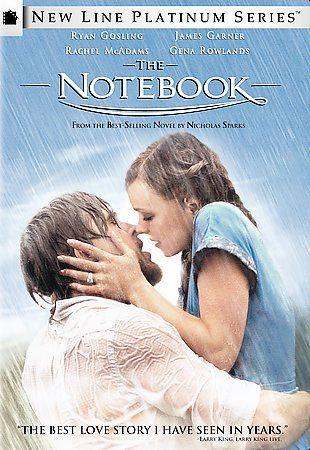 The Notebook DVD New Line Platinum Series