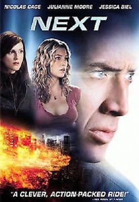 Next (DVD 2007 Region 1) 1995  Nicolas Cage, Julianne Moore, Jessica Biel, Thoma