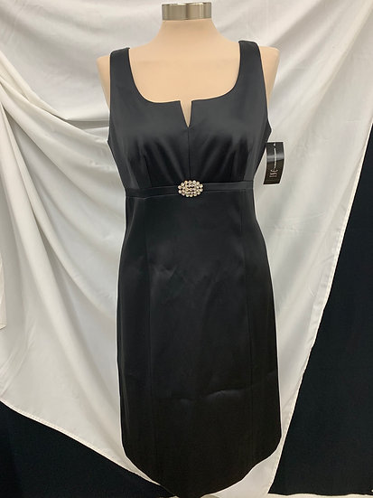 NWT INC INTERNATIONAL CONCEPTS BlackFormal  Evening Party Dress Cocktail size 6