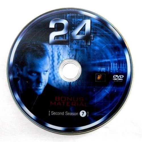 USED- 24 Second Season Dvd Replacement disc 7 ONLY