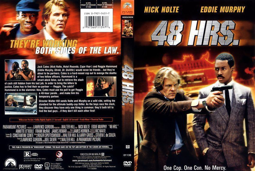 48 Hrs (DVD Widescreen 2006 Region 1) Eddie Murphy, Nick Nolte