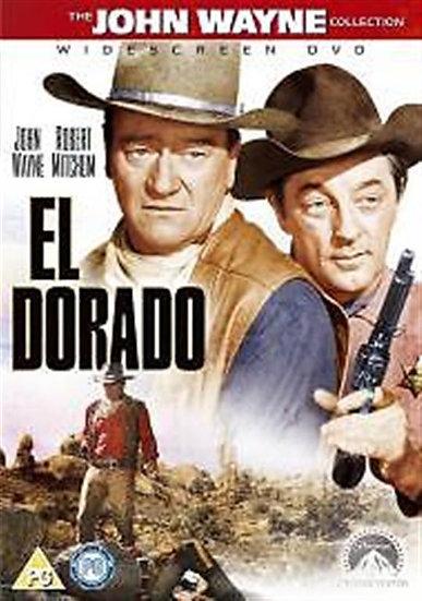 USED-El Dorado (1966) (DVD 2005) RARE  Robert Mitchum, John Wayne, James Caan