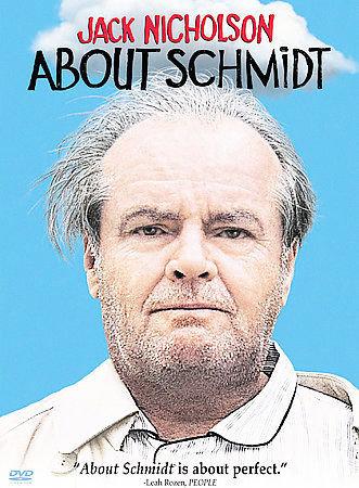 About Schmidt DVD starring Jack Nicholson/Kathy Bates