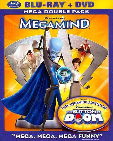 USED-Megamind (Blu-ray + DVD) Mega double pack