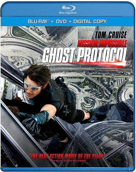 USED-Mission: Impossible - Ghost Protocol Blu-ray + DVD + Digital (2-Disc Set)