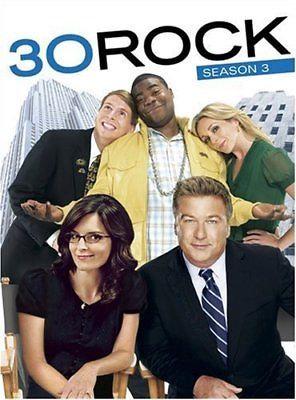 30 Rock: Season 3 (DVD, 2009, 3-Disc Set)