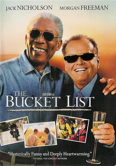 The Bucket List (DVD, 2008) Jack Nicholson Morgan Freeman