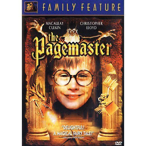USED-THE PAGEMASTER (DVD)