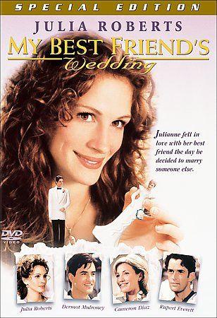My Best Friend's Wedding (DVD 2001) 1997 Julia Roberts, Cameron Dia