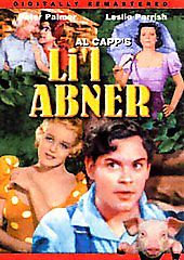 Lil Abner (DVD, 2004-B&W-DIGVIEW Productions) Slim Case