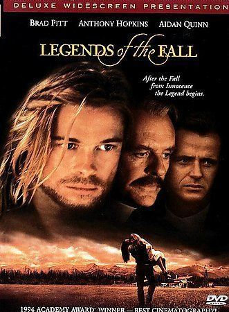 Legends of the Fall (DVD, Deluxe Widescreen)  Anthony Hopkins/Brad Pitt