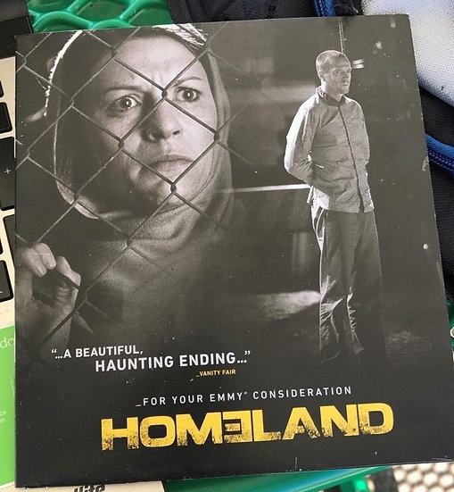 FYC 2014 Homeland TV Series 2014 FYC Emmy DVD For Your Consideration