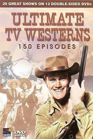 Ultimate TV Westerns - 150 Episodes (DVD, 2008, 12-Disc Set)