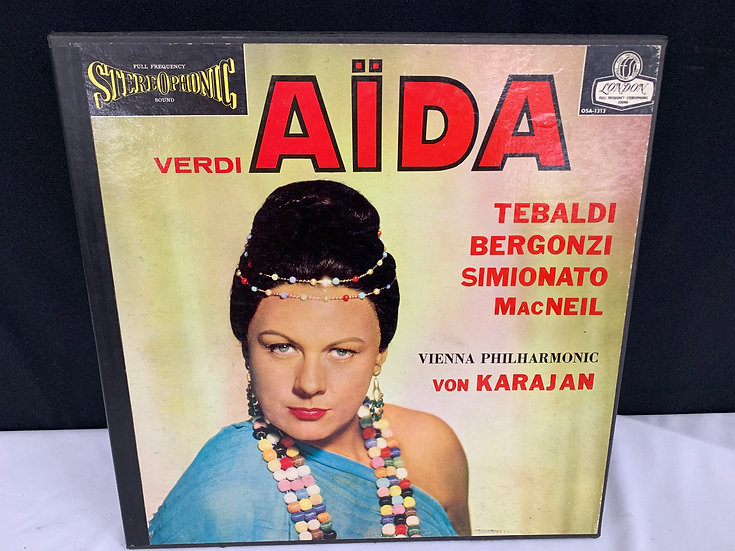 Verdi*, Tebaldi*, MacNeil*, Bergonzi*, Simionato*, Von Karajan*, Vienna Philhar