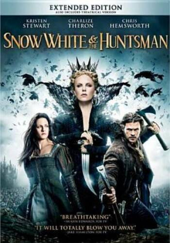NEW Snow White and the Huntsman DVD 2012  (Extended Edition)