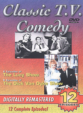 Classic T.V. Comedies (DVD) the Lucy Show (6 episodes) , The Dick Van Dyke Show