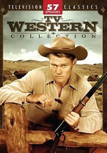 USED TV Westerns Collection (DVD, 2007, 4-Disc Set 57 episodes)