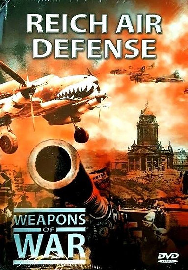 USED-Weapons of War Series Reich Air Defense DVD + 24 Page Booklet #16