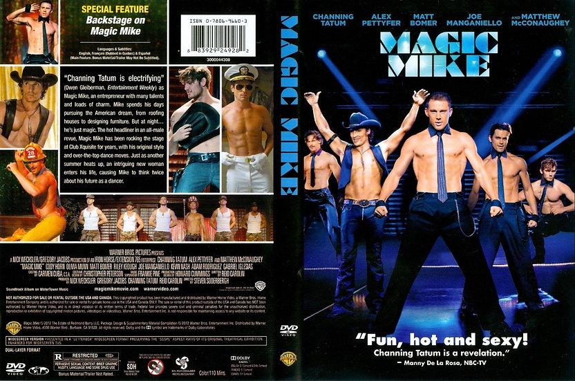 NEW Magic Mike (DVD 2012)  Channing Tatum/Alex Pettyfer/Matthew McConaughey