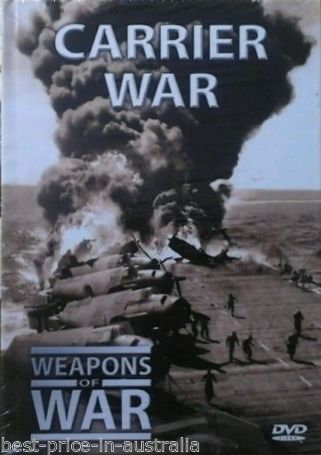 USED-WEAPONS OF WAR - Carrier War DVD + BOOK #14