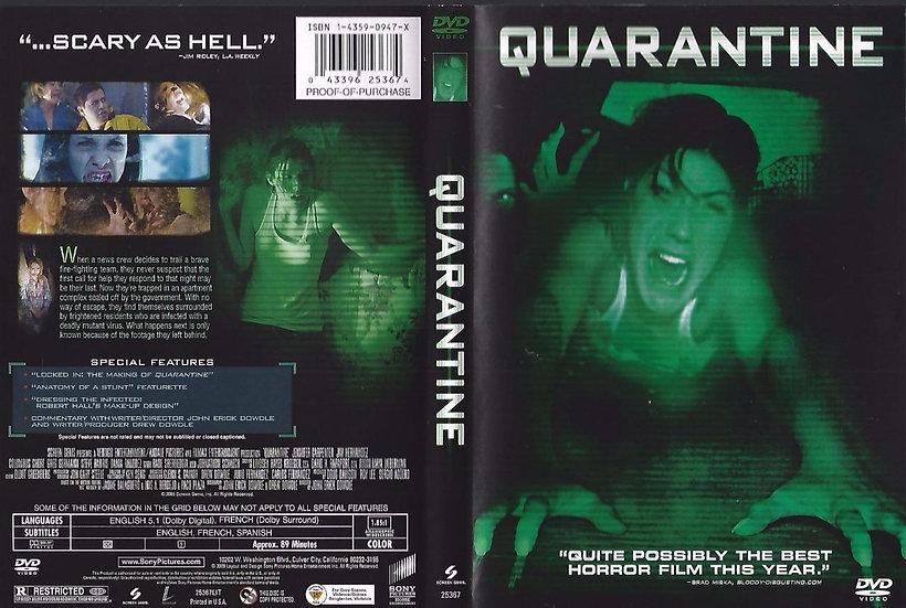 Quarantine (DVD, 2009) Jennifer Carpenter & Jay Hernandez