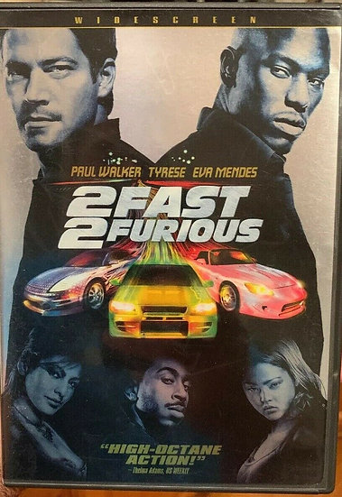 USED-2 Fast 2 Furious DVD WIDESCREEN