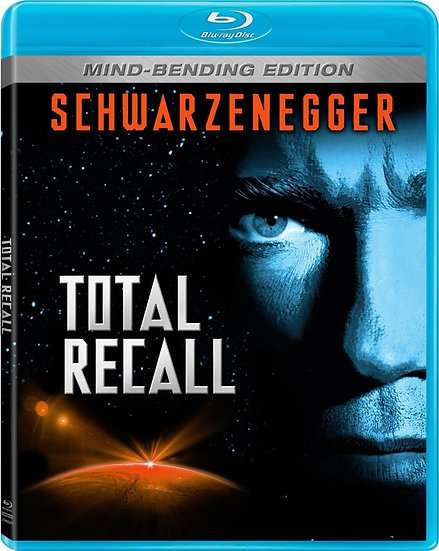 USED-Total Recall-1990 - Mind-Bending Edition (Blu Ray)