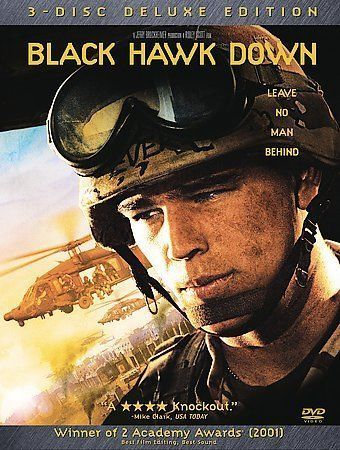 Black Hawk Down (DVD, 2003, 3-Disc Set, 3-DVD Deluxe Edition)
